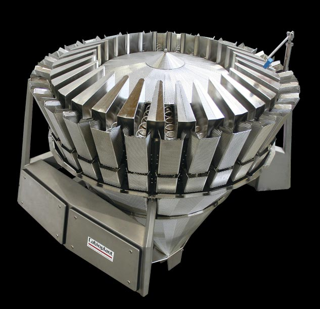 Multihead weigher + screwfeeder